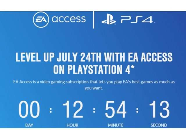 This new EA service will let users get free game trials and discounts on PS4