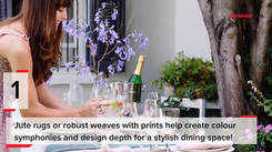 5 quick ways of decorating your dining space