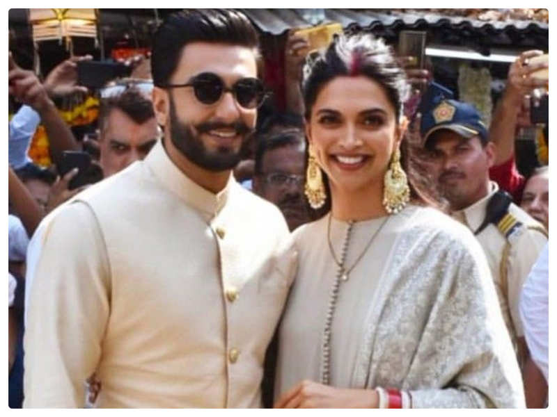 Deepika Padukone and Ranveer Singh look much in love in their throwback picture from a photoshoot