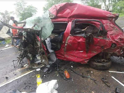 Six of a family from Bhopal killed in road accident | Bhopal