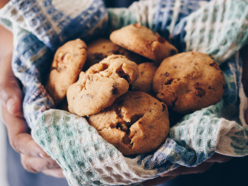 How to bake an easy cookie at home