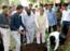 Tree plantation drive at Vasantrao Naik College