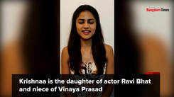 Bhavana Bhat rechristens herself Krishnaa