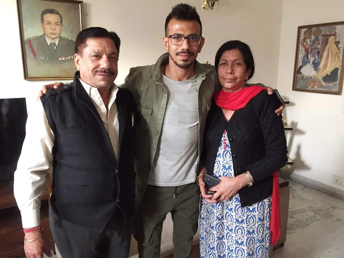 Yuzi' was very naughty as a child: Yuzvendra Chahal's parents on the  cricketer who was also a chess champion | Cricket News - Times of India