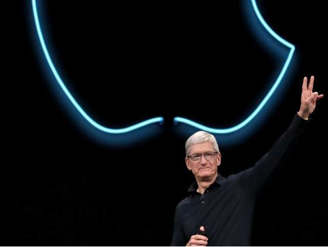 """Why Apple CEO Tim Cook is """"very happy"""" with India"""