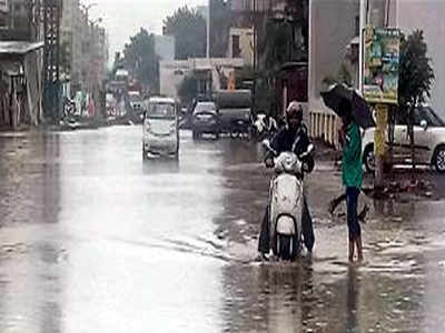 Waterlogged road bogs down Chikhali residents | Pune News