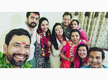 Pictures: Nirahua visits Maa Vindhyawasini Temple with Aamrapali Dubey and her family