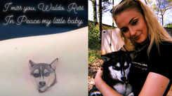 Newlyweds Joe Jonas and Sophie Turner get inked in the loving memory of their dog