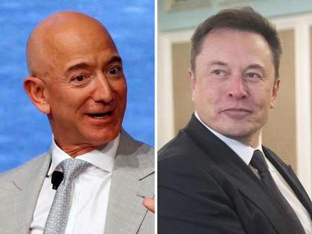 Amazon and Tesla CEOs to help NASA land humans on Moon