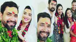 Bhojpuri actress Aamrapali Dubey's latest pictures with Dinesh Lal Yadav aka Nirahua spark wedding rumours