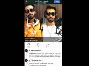 Get ready to sing your heart out with Maninder Buttar on Smule