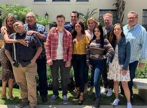 'Modern Family' cast shoot final episode