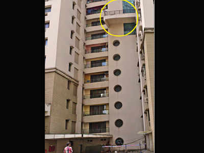Kolkata businessman falls to death from 8th floor of
