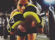 This singer's boxing skills will blow your mind!