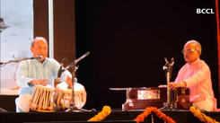 SCZCC Director Deepak Khirwadkar showcases his mastery over tabla
