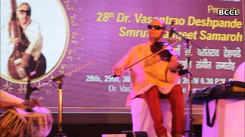 Pt Prabhakar Dhakde's violin strings tug at the listener's heart