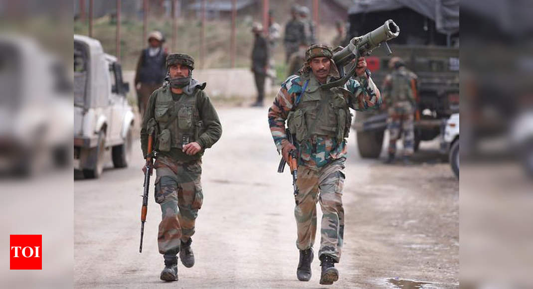 Handwara Encounter News: Colonel, Major Among 5 Killed In Action ...