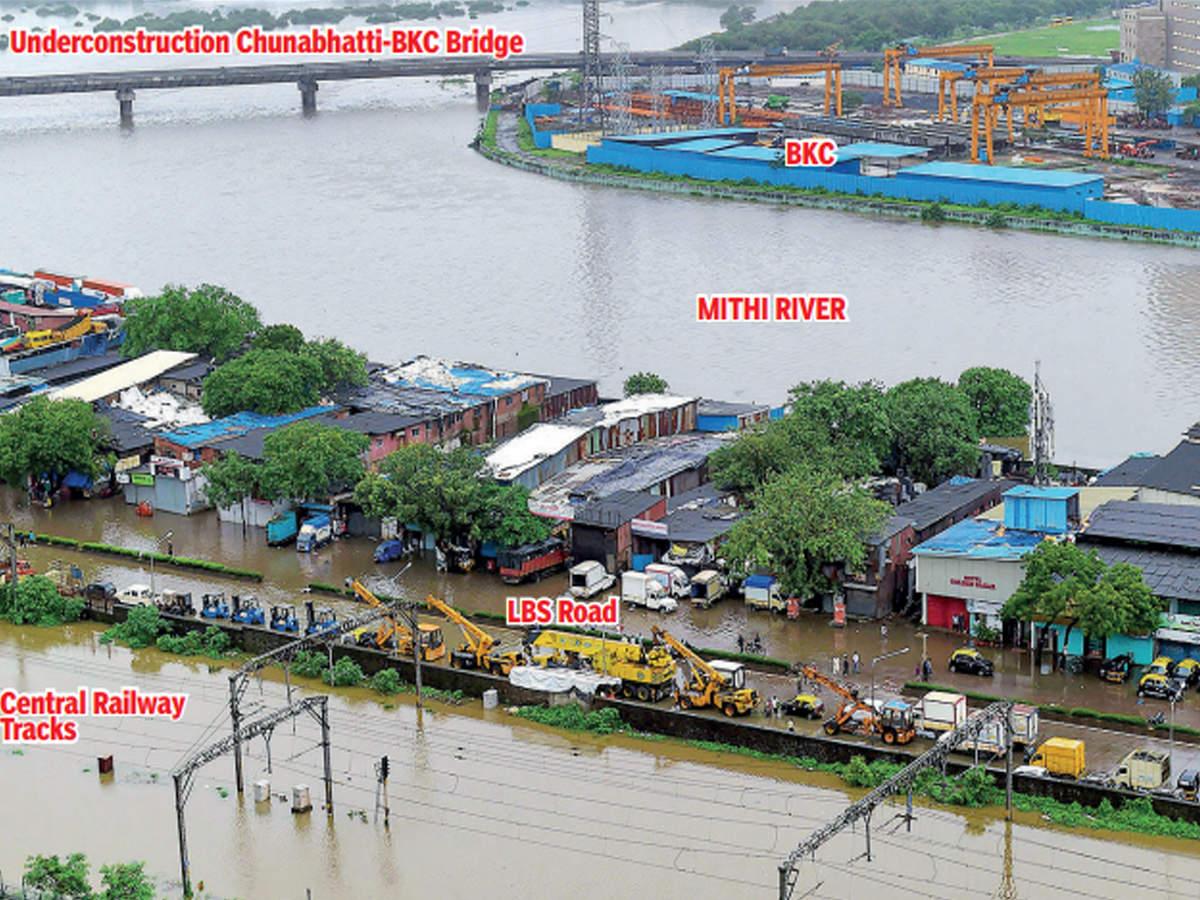 Mumbai: Mithi river brings a flood of bitter memories   Mumbai News - Times  of India