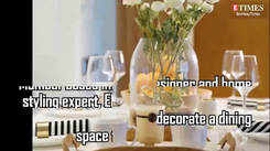 Five essentials to decorate your dining space this monsoon