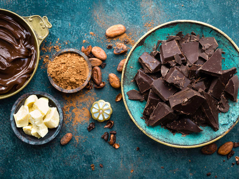 Does dark chocolate relieve anxiety? - Times of India