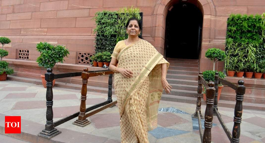 Nirmala Sitharaman to meet representatives of various sectors during this week - Times of India thumbnail