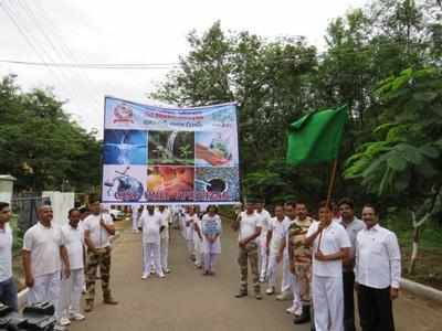 Awareness rally on need to save water   Visakhapatnam News - Times