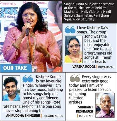 Musical tribute to legendary Kishore | Nagpur News - Times of India