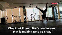 Checkout Power Star Puneeth's cool moves