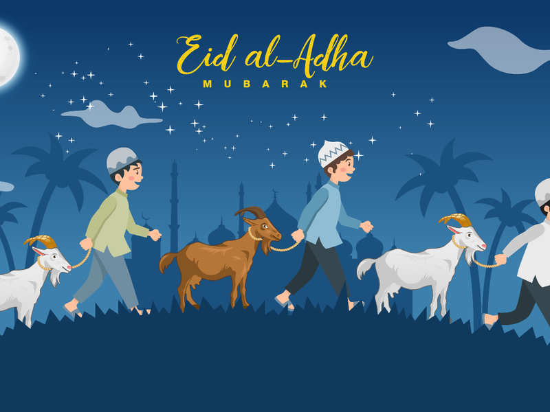 Bakrid Mubarak Wishes : IMAGES, GIF, ANIMATED GIF, WALLPAPER, STICKER FOR WHATSAPP & FACEBOOK