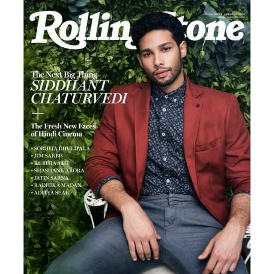'Gully Boy' Siddhant Chaturvedi features on the cover of a leading music magazine