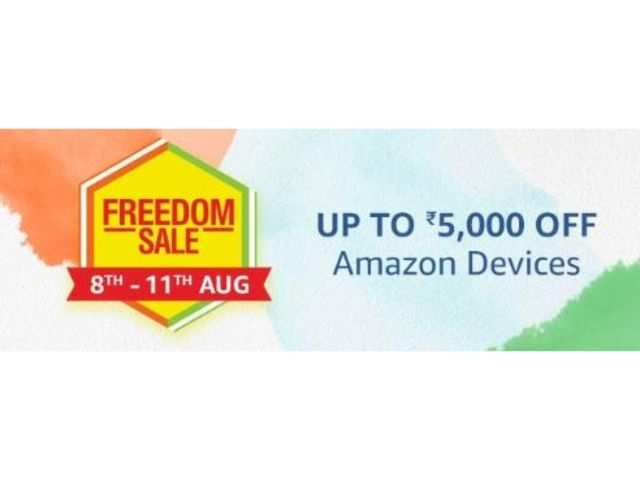 Amazon Freedom Sale: Up to Rs 5,000 off on Amazon Echo, Amazon Kindle, Fire TV stick and more