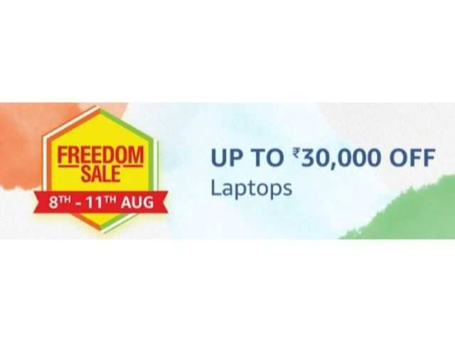 Amazon Freedom sale: Up to Rs 30,000 off on laptops from Dell, Acer, Asus and other brands