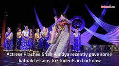 Watch actress Prachi Shah Paandya's classical dance performance