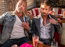 Dwayne Johnson and Ryan Reynolds show off their matching tattoos in this BTS picture from 'Hobbs & Shaw'