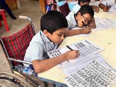 Mumbai: Calligraphy helps special kids redraw social boundaries