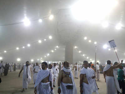 Muslims mark Eid and final days of haj in Saudi Arabia - Times of India