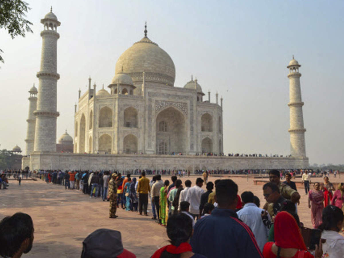 Fully prepared for large Eid crowd at Taj Mahal' | Agra News - Times of  India