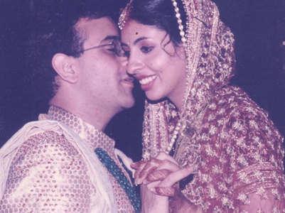 Unseen pics from Shweta Bachchan's wedding