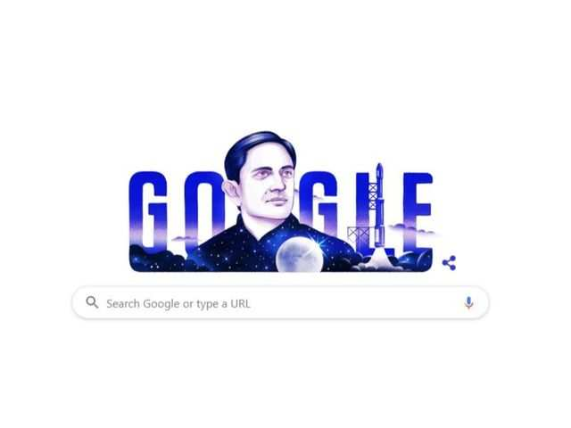 Google honours Dr Vikram Sarabhai with a Doodle on his 100th b'day