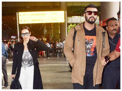 Arjun & Malaika Arora are back to the bay