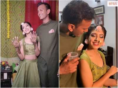 PICS from Niti Taylor's mehendi function