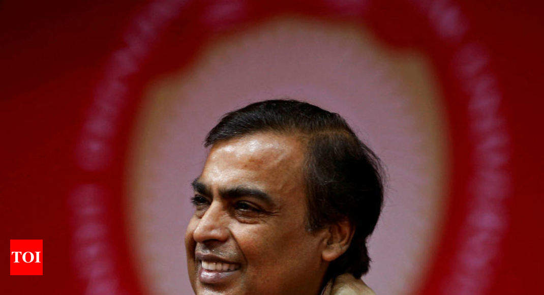 RIL shares see biggest intraday rise in decade; rivals hit by disruption worries - Times of India thumbnail