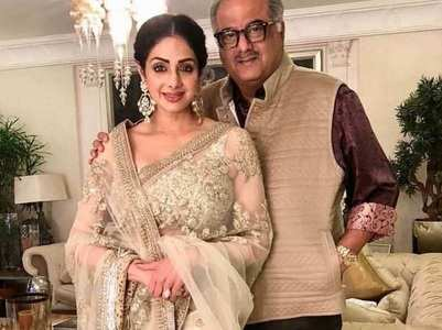 Boney shares an emotional post for Sridevi