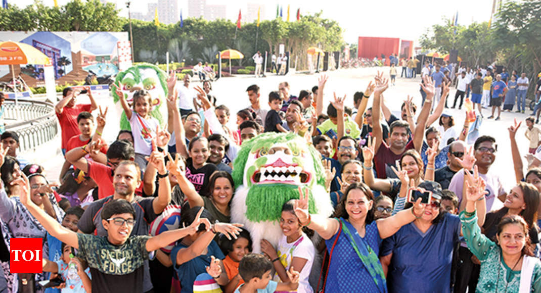Happy Streets is back with a bang in Lucknow - Times of India