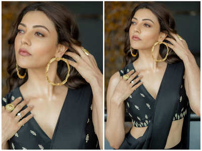 5 times Kajal Aggarwal turned up the heat with ethnic outfits