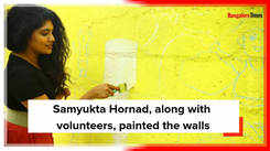 Samyukta Hornad gives a makeover to her adopted school