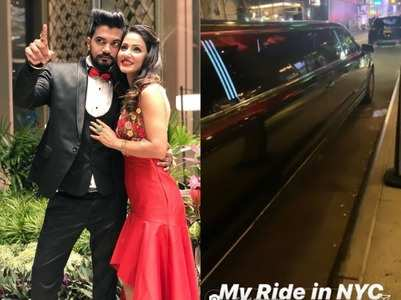 Hina and Rocky get  lavish welcome in USA