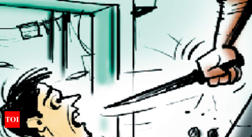 Ahmedabad: Shopkeeper slashed for refusing to let man charge phone - Times of India