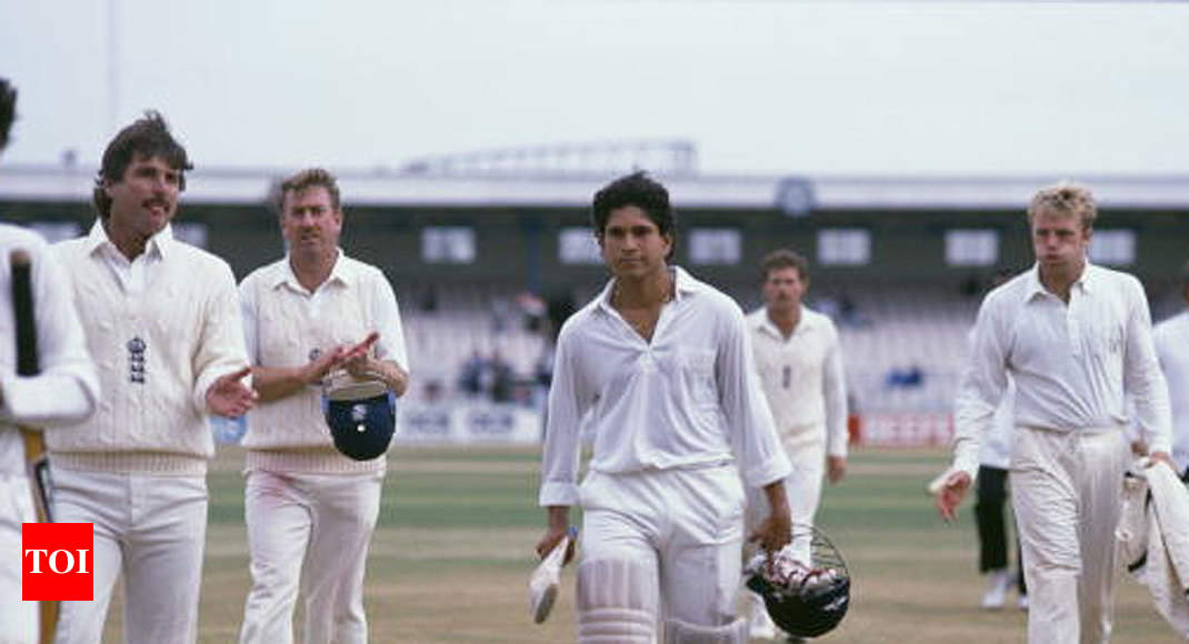 This Day That Year: When Sachin Tendulkar hit his first Test century - Times of India