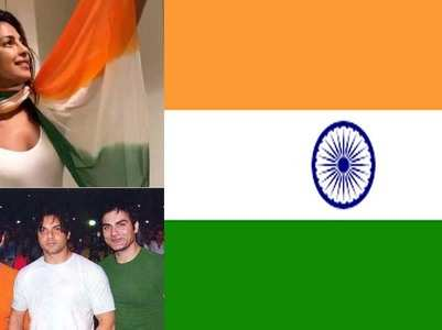 B-town celebs who donned the Indian tri-color